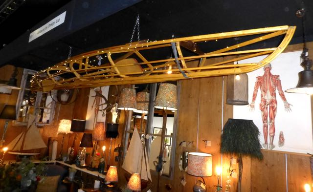 Picture of Canoe chandelier