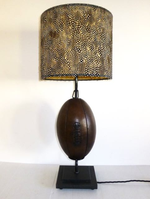 Rugby ball lamp