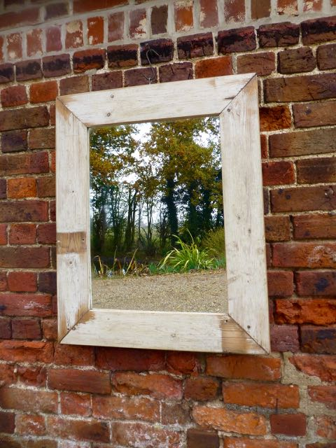 Old boards mirror