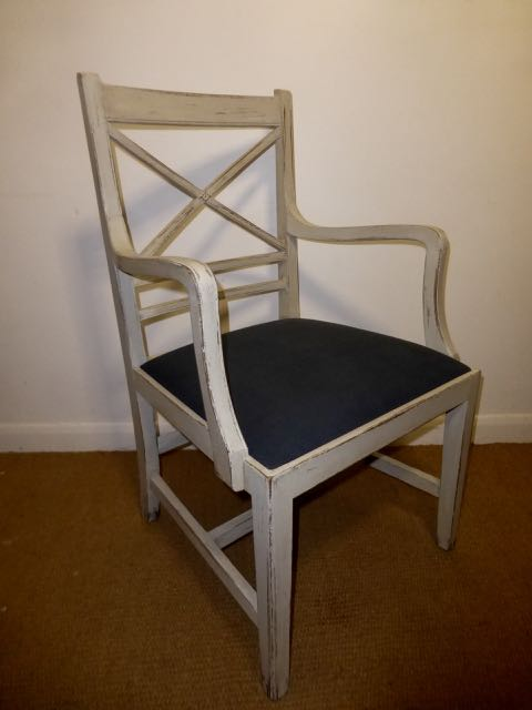 1930 oPainted oak chair