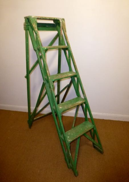 Picture of Green set of steps