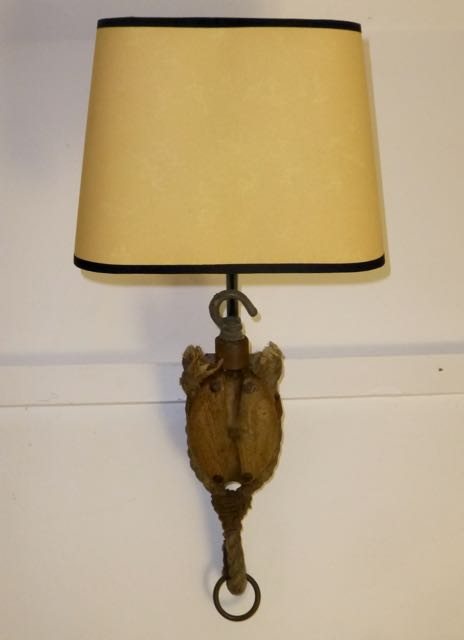 Picture of  Rope block wall sconce
