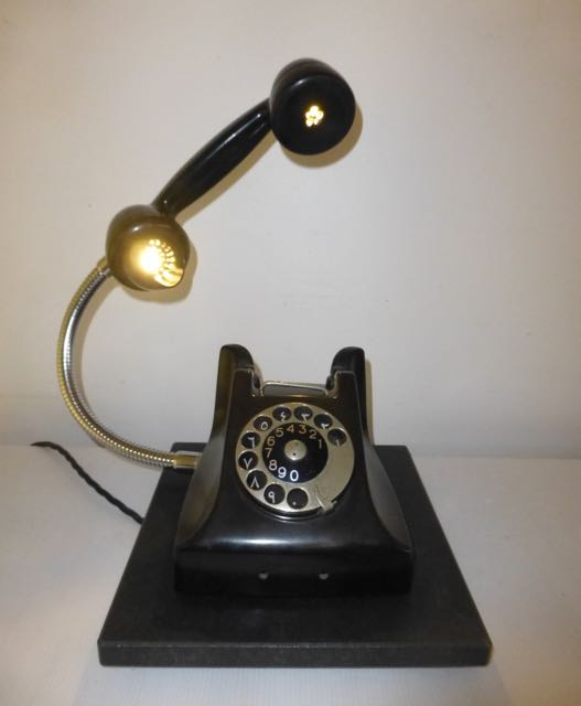 Baker-light telephone light