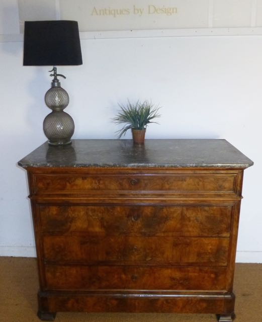 Picture of French commode with marble top