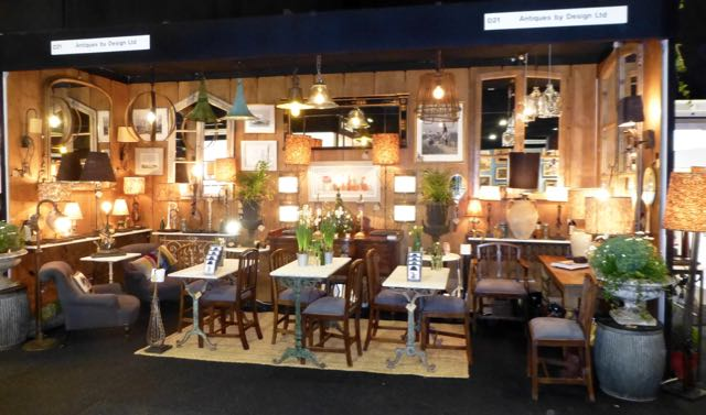Our stand at the Spring Decorative Antique fair in London