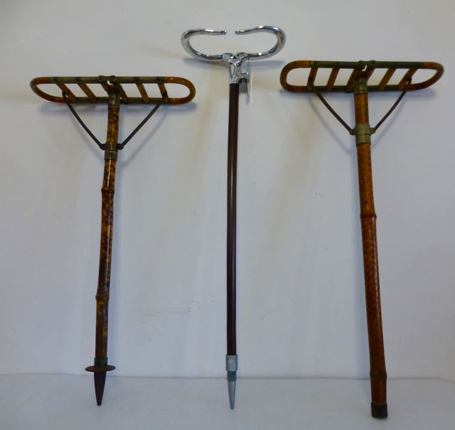 Picture of 2 Edwardian bamboo shooting sticks