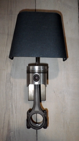 Car Piston Wall Light