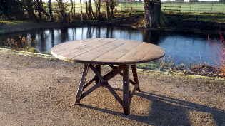 Picture of Round Industrial Table