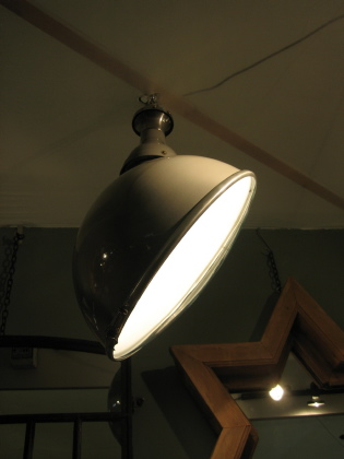 Picture of Pair of Rover factory overhead lights