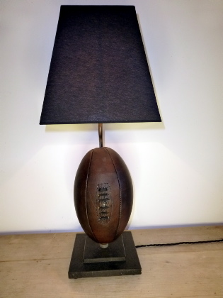 Picture of Rugby ball lamp