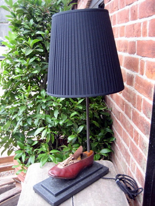 Picture of Running shoe table lamps