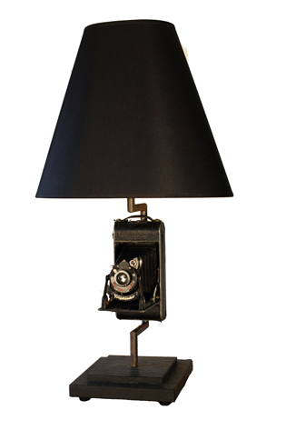 Picture of Old Kodak Camera Lamp