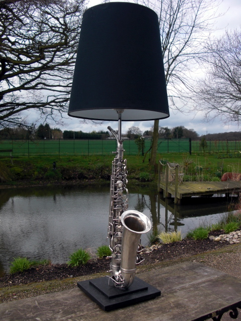 Picture of Sax Lamp