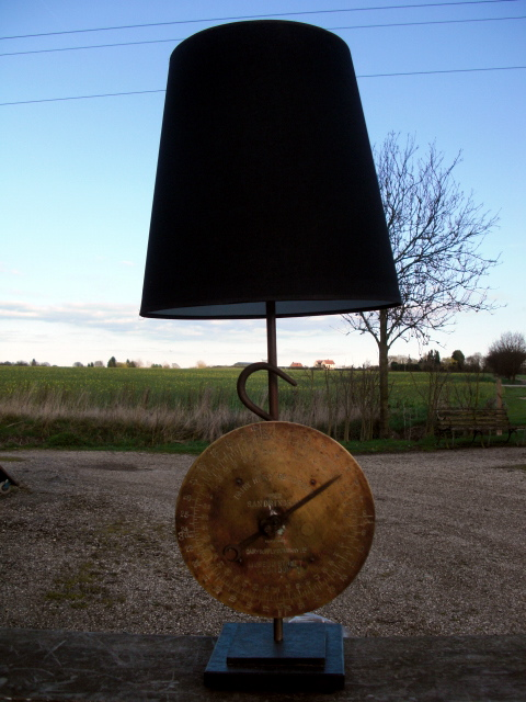 Picture of The Sandringham Scales Lamp