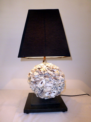 Picture of Shell Ball Table Lamp