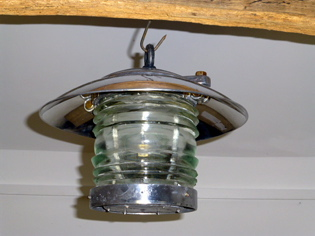 Picture of Ships Fresnel lens lamp