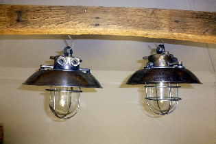 Picture of Iron ships passage lamps + shade