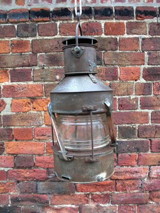 Picture of Ship's Lantern Hanging Light