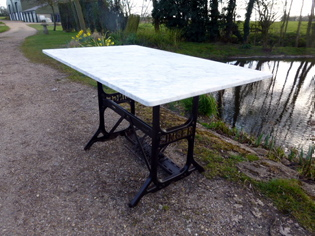 Picture of Sail Makers Singer Sewing Machine Table