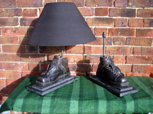 Picture of Pair of Ski boot lamps