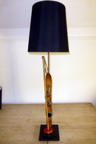 Childrens ski table lamps