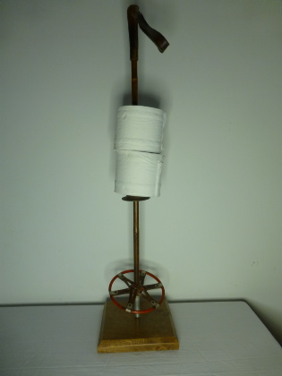 Picture of Old alpine ski loo roll holder