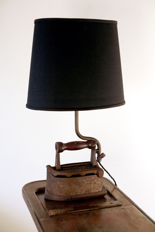 Picture of Old Reclaimed Iron Lamp
