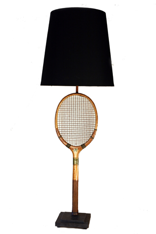 Picture of Tennis Racket Lamp