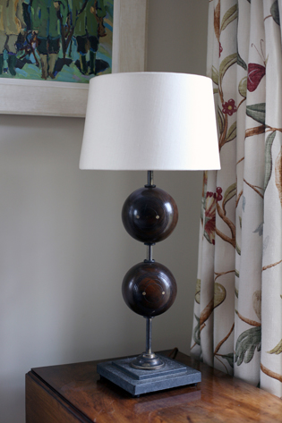 Bowling Ball Table Lamp