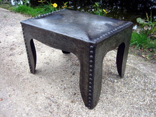 Picture of Small Galvanised Water Tank Coffee Table