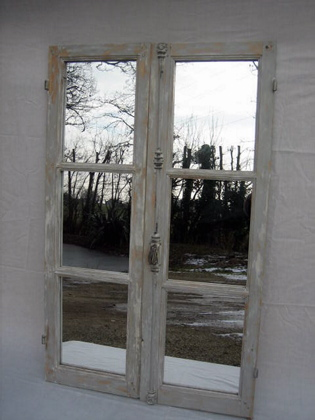 Picture of French window mirror