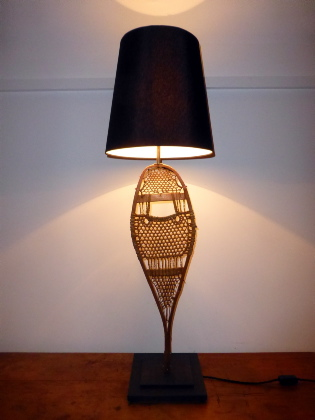 Picture of Snow Shoe Table Lamp