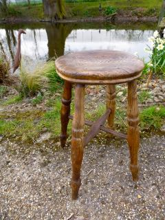 Picture of Elm stool
