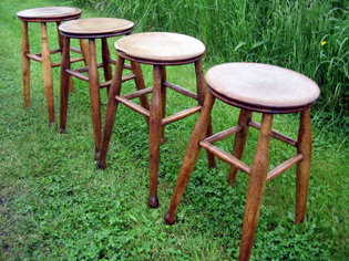 Picture of 4 Victorian Stools