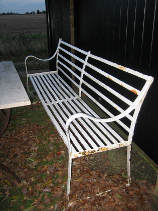 Picture of Strap Iron Bench