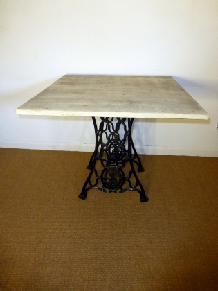 Old sail loft singer sewing machine table