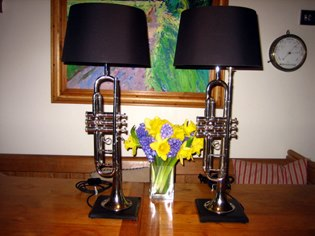 Picture of Trumpet table lamps