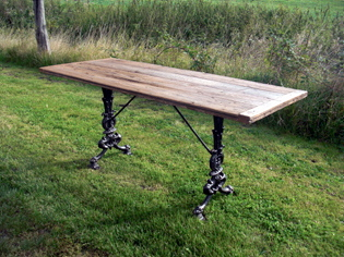 Picture of Victorian Table Base & Engineering Board Top