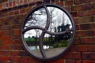 Picture of Wheel mirror 75cm