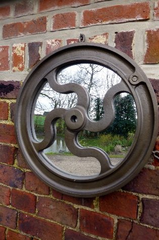 Picture of Wheel mirror ss 47cm