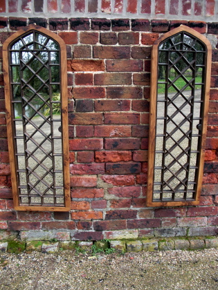 Picture of Gothic window mirrors