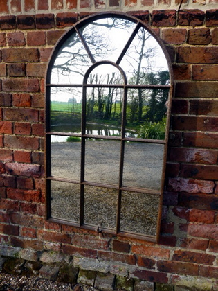 Picture of Arch top window mirror
