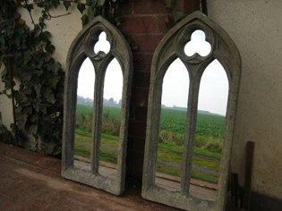 Picture of Gothic Church window mirror