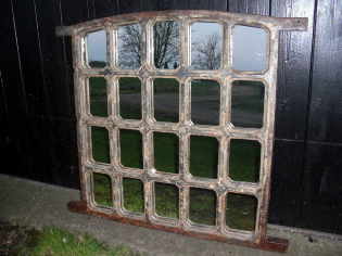 Picture of  Jail window mirror