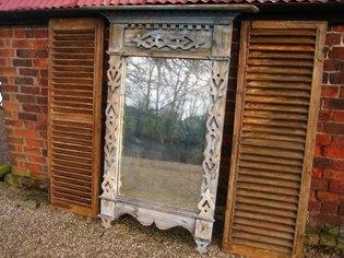Russian window mirror