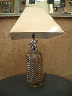 Picture of Soda syphon lamp