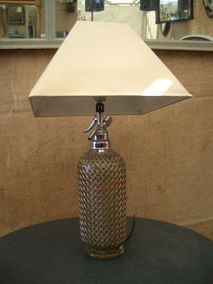 Soda syphon lamp