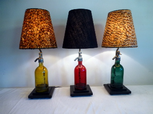 Picture of Old soda bottle lamps