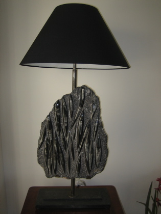 Picture of Squid fossal lamp