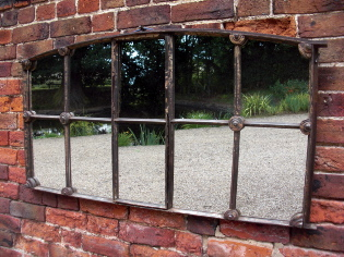 Victorian window mirror